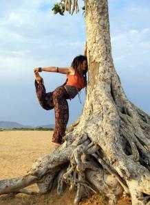 desert yoga